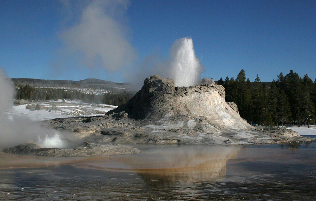 geology of yellowstone Geology is a driving force behind yellowstone's landscape.